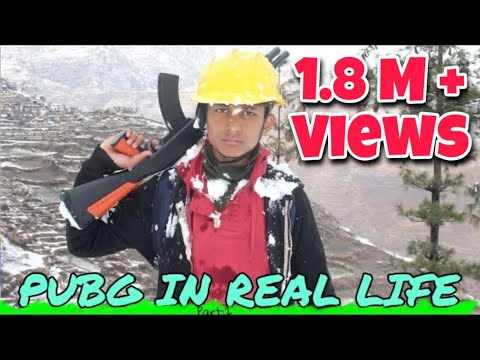 PUBG IN REAL LIFE ( Part : 2 ) Snow Map || Ganesh GD