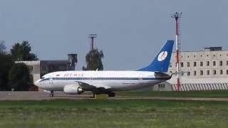 Один день жизни аэропорта Гомель (Spotting UMGG)