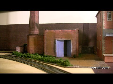 oorail.com | Brewery boiler house diorama for OO Scale Model Railway