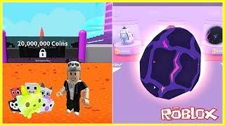 En Pahalı Yumurtayı Aldım ve Yeni Takas Güncellemesi - Roblox Pet Simulator
