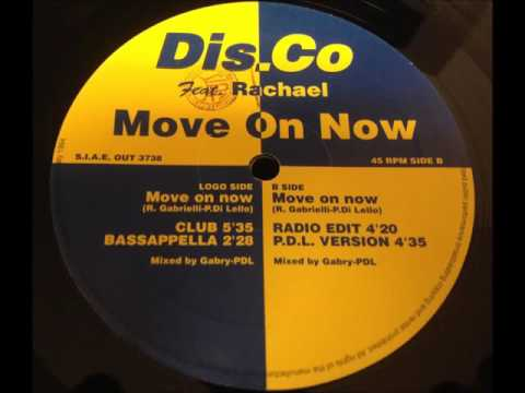 Dis.Co Feat. Rachael - Move On Now