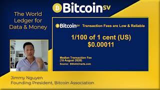 Baikal Blockchain & Crypto Summit: Jimmy Nguyen - Bitcoin SV, The World Ledger for Data and Mone