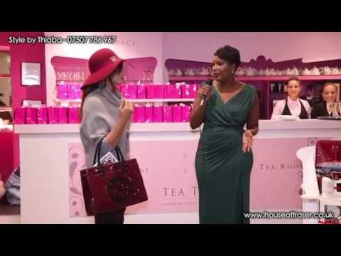 House of Fraser Styling presentation for the Concierge event 2014 by Thiaba Diallo