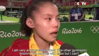 Chinese Women Gymnasts Finish Podium Training for Rio Olympics   YouTube