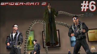 Spider-Man 2 PS2 Gameplay #6 [Spidey vs Doc Ock]