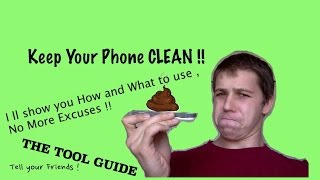 How to clean your Phone RIGHT and Cleaners Review