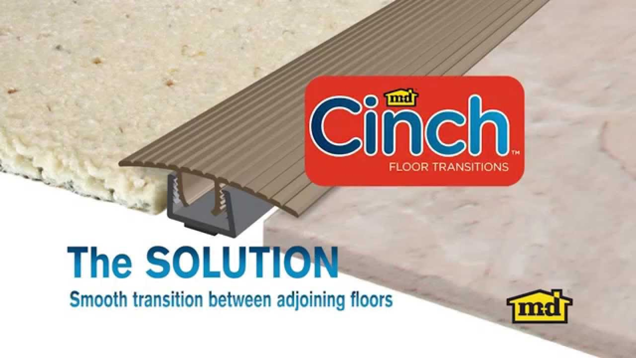 How to install a cinch floor transition youtube how to install a cinch floor transition dailygadgetfo Image collections