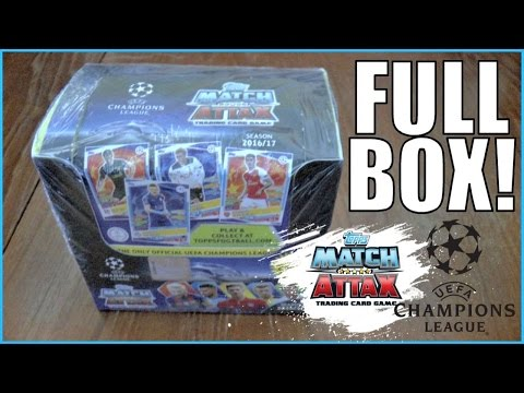 FULL BOX! | MATCH ATTAX CHAMPIONS LEAGUE 2016/17 | YouTube PREMIERE!!!