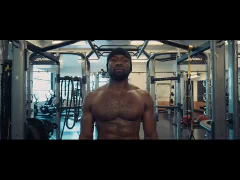 TREVANTE RHODES WORK OUT - YouTube