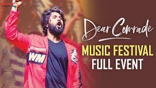 Dear Comrade Music Festival Hyderabad Vijay Deverakonda Rashmika Bharat Kamma