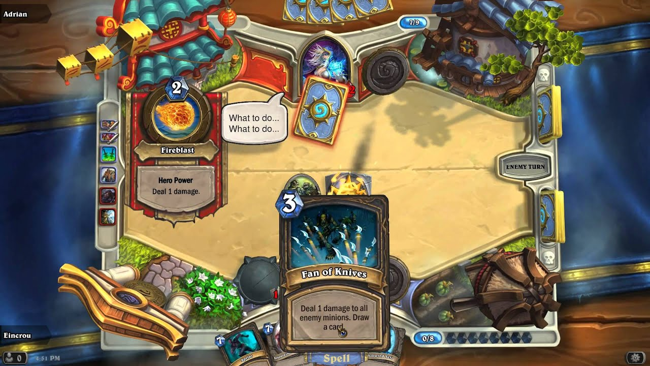 Hearthstone - How does matchmaking work in Play mode - Arqade