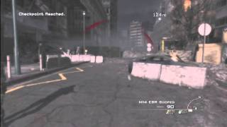 """Modern Warfare 3 Campaign - *New Easy* Out of Map on """"Scroched Earth"""" (Found By: MrGlitcherHD)"""