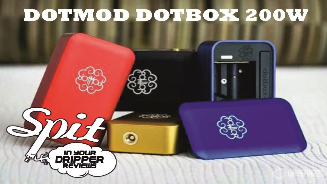 HARDWARE REVIEW - DOTMOD DOTBOX 200W (DUAL 18650)