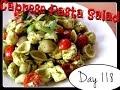 Caprese Pasta Salad Recipe [Food Challenge: DAY 118]