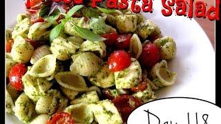 Caprese Pasta Salad Recipe [day 118]
