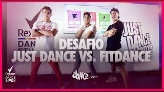 Desafio Just Dance vs. FitDance #RexonaDanceStudio