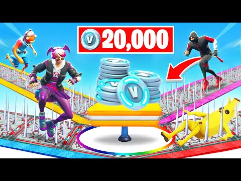 50 LEVEL *VERSUS* Deathrun For VBUCKS *NEW* Game Mode in Fortnite Battle Royale