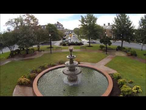 The Sussex County Seat is Georgetown Delaware, and there you will find a circle...