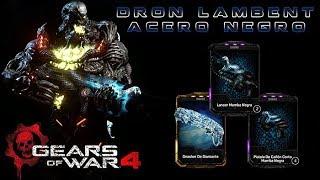 """Gears of War 4 l 1er. """" Partida Dron Lambent """" Acero Negro """" l RDLC l Compras l 1080p Hd"""