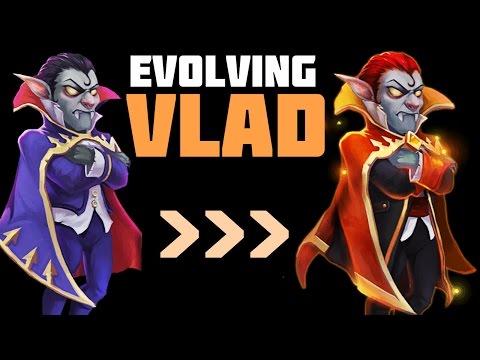 Castle Clash: Evolving Vlad Dracula