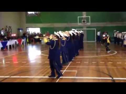 Apresentação Banda Marcial Alexandre de Gusmão  BAMAG 21/09/2014