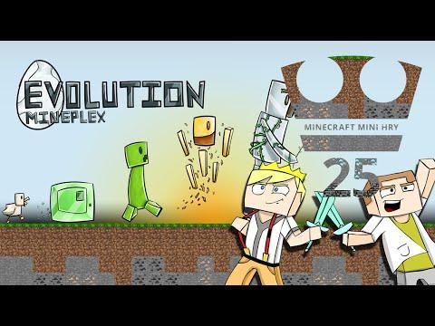 Jirka a GEJMR Hraje - Minecraft Mini hry 25 - Evolution