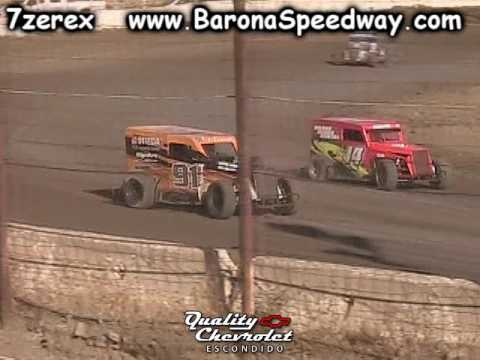 Dwarf Car Heat 1 Barona Speedway 6-17-2017