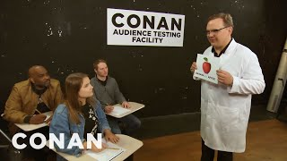 Andy Hand Selected The Studio Audience - CONAN on TBS