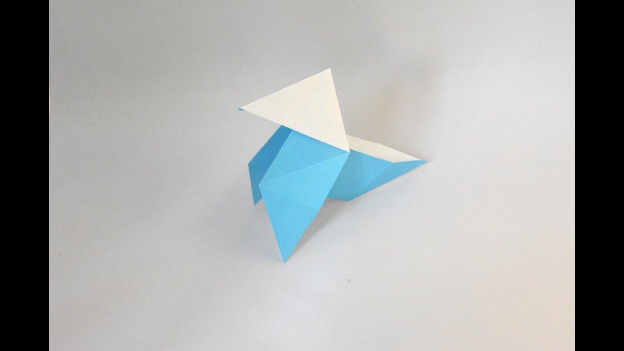 origami cocotte en papier youtube. Black Bedroom Furniture Sets. Home Design Ideas