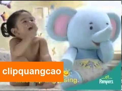 Quảng cáo Pampers hay nhất cho bé yêu
