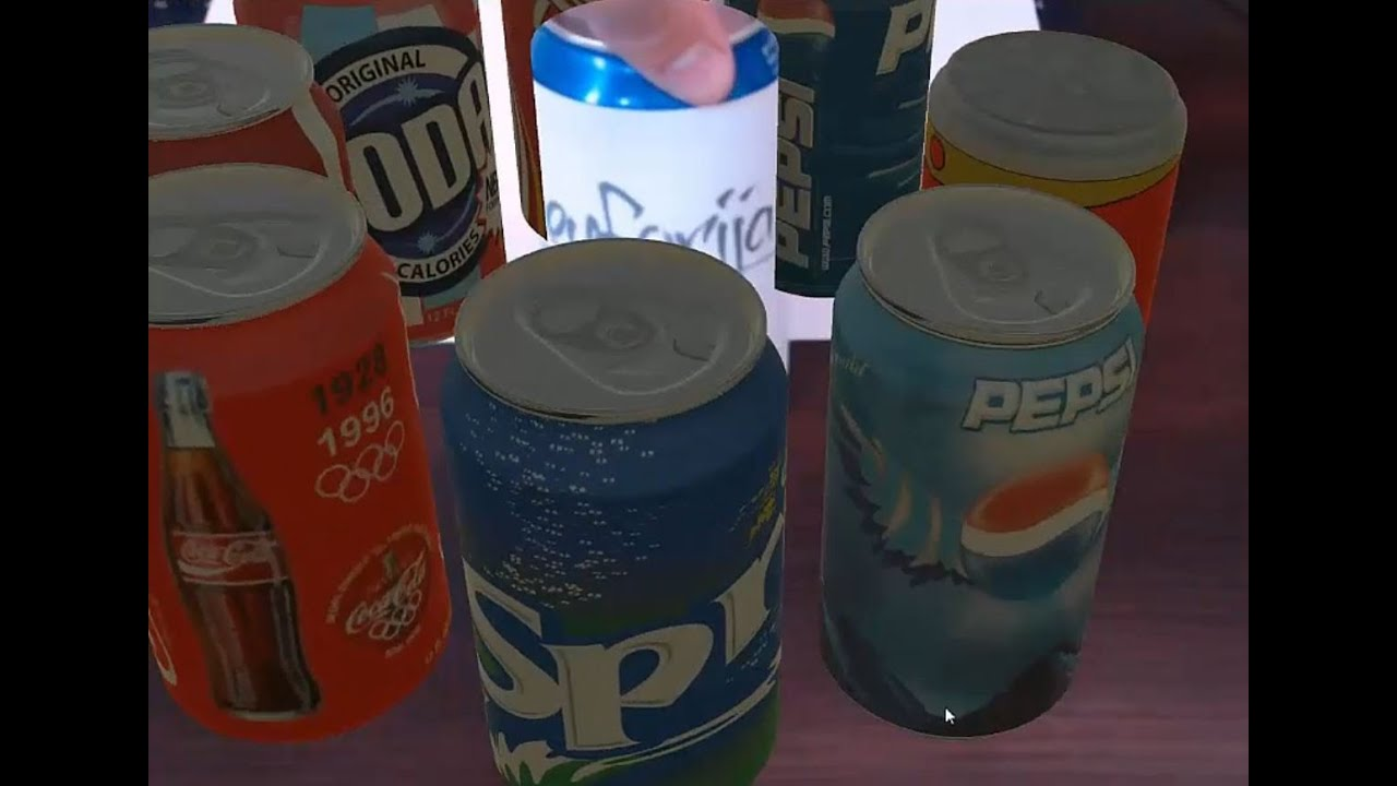 Augmented Reality Tutorial No  20: Unity3D and Vuforia for Tracking  Cylindrical Object - Pepsi Can