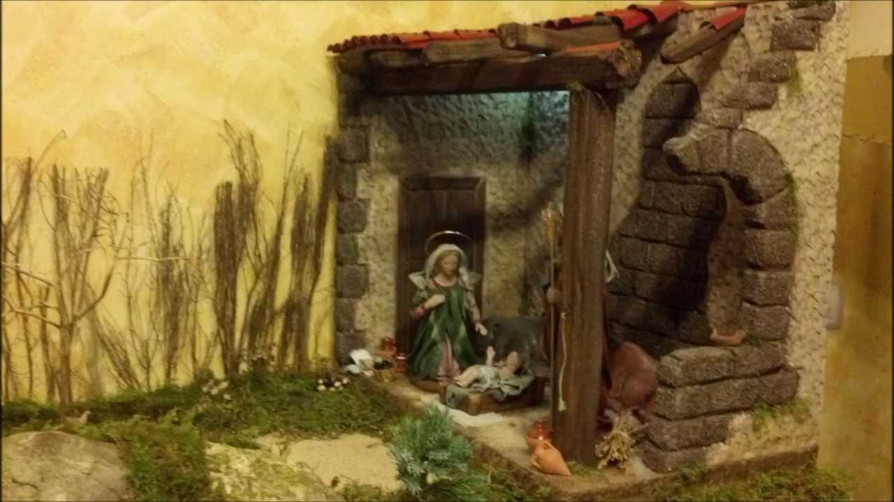 Portal de belen christmas crib navidad 2012 con pesebre modelo lola temprado youtube - Cosas de navidad para hacer en casa ...