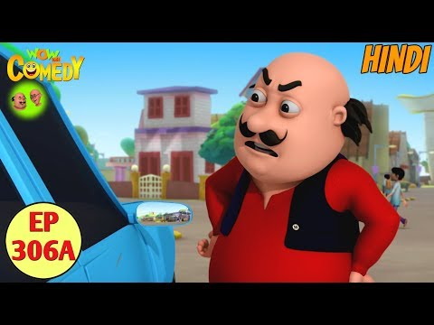 Motu Patlu   Cartoon in Hindi   3D Animated Cartoon Series for Kids   Driver No.1