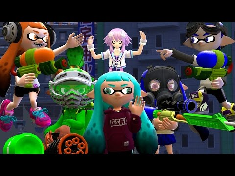 [Splatoon GMOD] Squid-nanigans