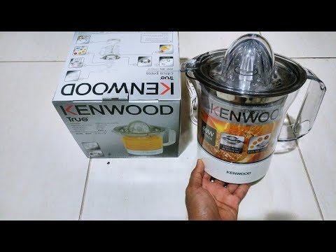 Kenwood Citrus JUICER (JE290) OR ORANGE JUICER Unboxing AND DEMO