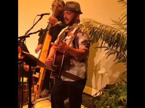 Steven Espaniola Performing Aloha Nō Kalākaua