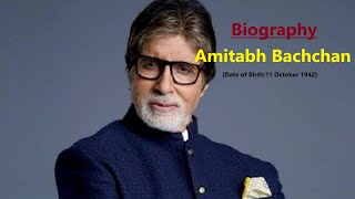 Amitabh Bachchan Biography - Height, Age, Wife, Family, Caste and  More (Latest)