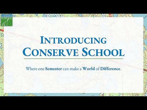 An Introduction to Conserve School - Virtual Prospective Student Day