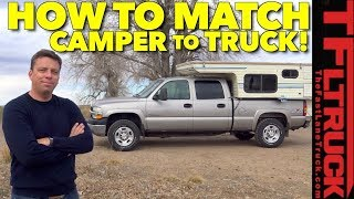 How To Best Match a Camper to Your Truck! Chevy & Hallmark Victor