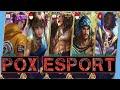 FULL SQUAD POX ESPORT MEMBANTAI LAND OF DAWN!  - Mobile Legends Indonesia!!