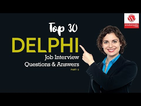 Delphi Interview Questions And Answers 2019 Part-2 | Delphi Interview Questions | Wisdom IT Services