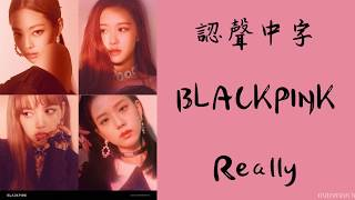 【認聲/繁中字】BLACKPINK - Really