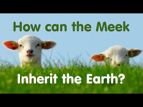 How Can the Meek Inherit the Earth?