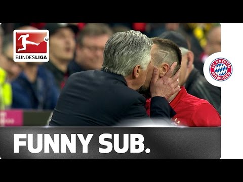 Ancelotti's Tender Romance With Ribery