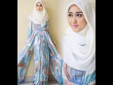 Model Baju Busana Muslim Terbaru Dian Pelangi 2017 - YouTube 1f0efa3dab