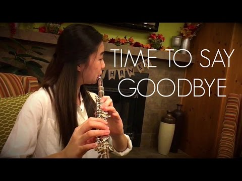 Time To Say Goodbye (Con Te Partiro) Flute Cover