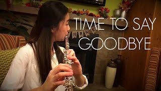 Time To Say Goodbye (Con Te Partiro) (Flute Cover by Fred Kim and Eunie Bae)