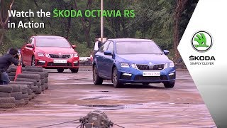 Watch the ŠKODA Octavia RS in Action