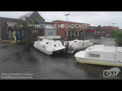 10-10-2018 Port St Joe, FL - Severe Damage Drone