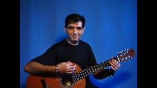 E.Iglesias - Bailamos - instrumental acoustic guitar cover